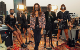 Rebecca Minkoff's Fall Collection Is a Mix of Boho and Rock 'n' Roll